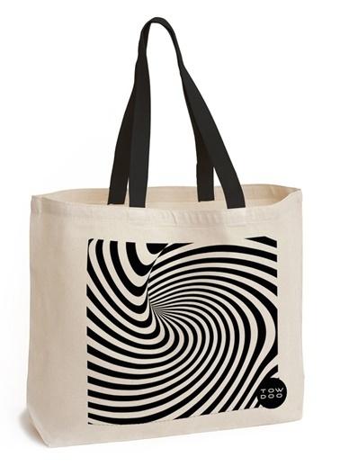 Zebra Plaj Çantası-Towdoo